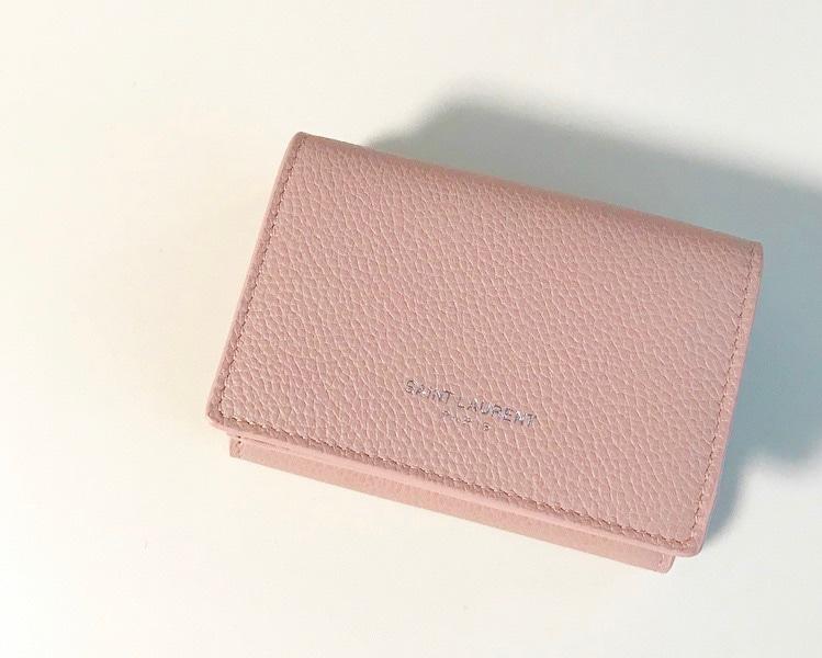 サンローラン三つ折り財布の画像