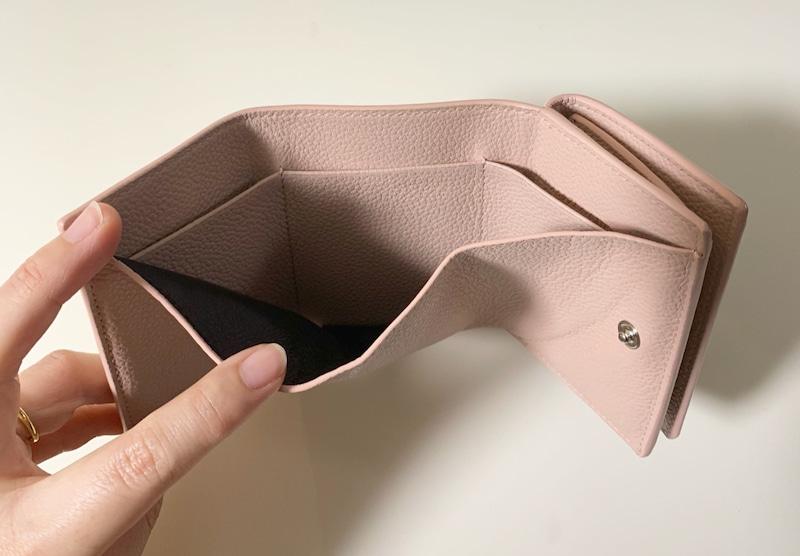 サンローラン三つ折り財布カードポケットの画像